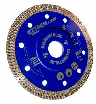 EXTREM TOOLS DIAMANTBLAD 125mm x 1,4mm