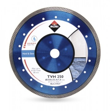 Rubi Diamantblad TVH Superpro 250x25,4mm turbo
