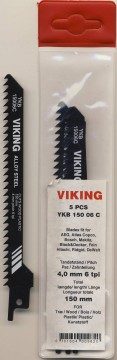 VIKING BAJONETTSAGBLAD 150mm 6TPI 5PK.