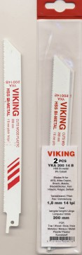 VIKING BAJONETTSAGBLAD 200mm 14TPI 2PK.
